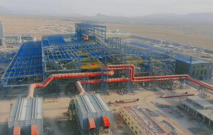 فولاد زرند ایرانیان(اجرای سیستم باسداکت)