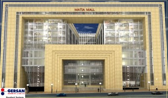 مجتمع تجاری اداری ماتیا(اجرای سیستم باسداکت)
