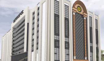 مجتمع تجاری و اداری متروپل آبادان(اجرای سیستم باسداکت)